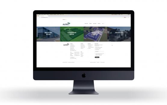 Videopräsentation neue Website Altez Construction Group