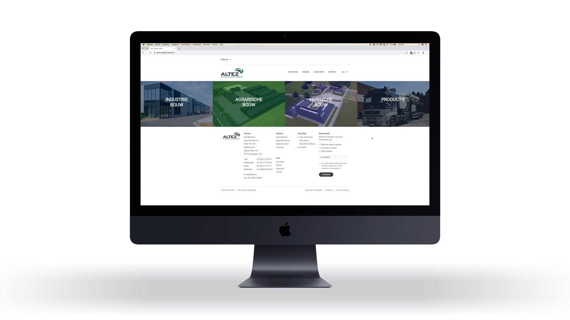 Website case